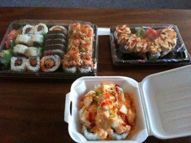 Kato Sushi Takeout.